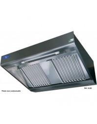 Hotte de ventilation complète - type murale comby - Profondeur 900 - Plusieurs choix de dimensions