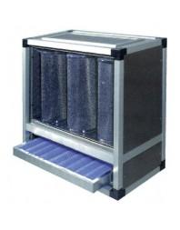 Caisson de filtration des graisses et des odeurs - 9 cylindres - FG09