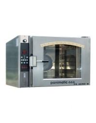 Four ventilé électrique 4 étages - Filet 460 x 660 ou Gastronorme 530 x 650 - Avec buée pour pains
