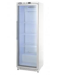 Armoire blanche positive vitrée - 400 litres