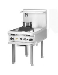 Wok professionnel gaz 1 brûleur - gamme 900 - Avec système d'injection d'eau