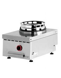 Wok professionnel de table gaz 1 brûleur - gamme 600