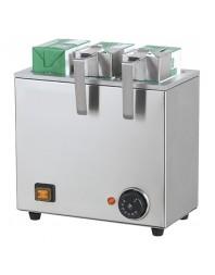 Chauffe-lait/briques - 3 réservoirs - Capacité : 3 x 1 litre