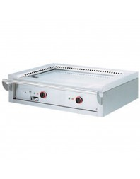 Teppanyaki électrique à poser - 2 zones - 2 x 5.85 kW
