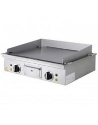 Teppanyaki électrique à poser - 2 zones - 2 x 3.15 kW