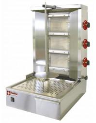 Gyros grill gaz - capacité 35 kg - broche 600 mm - DIAMOND