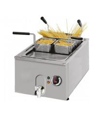 Cuiseur électrique pour pâtes avec robinet de vidange, modèle de table, 23 litres