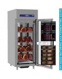 Armoire de maturation 850 litres - froid ventilé - 1 porte vitrée - 20 x GN 2/1