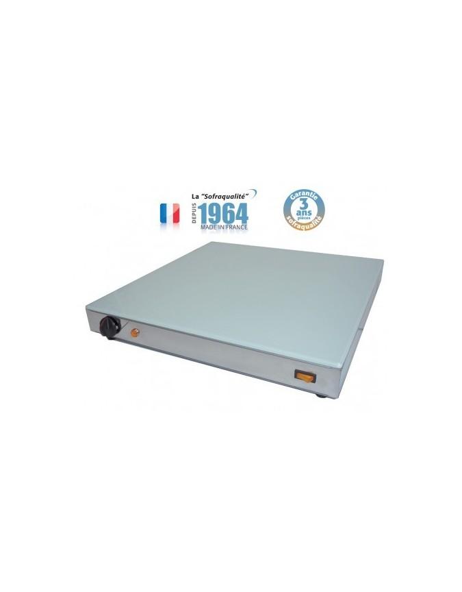 Plat En Verre Sur Plaque Induction plaque chauffante en verre - 1000 x 500