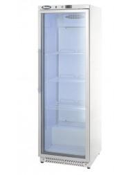 Armoire réfrigérée positive blanche - 1 porte vitrée - 400 litres