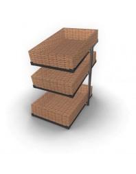 Corbeille à pain - 3 étagères