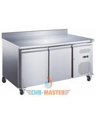 Table Réfrigérée murale 2 portes Positive - Prof 600 - GAMME série Star GN1/1
