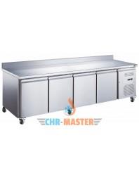 Table Réfrigérée murale 4 portes Positive - Prof 600 - GAMME série Star GN1/1