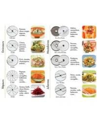 Pack de disques Nutrition Fraîcheur - 13 disques
