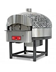 Four à pizzas gaz avec base non rotative - 9 pizzas