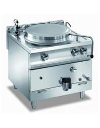 Marmite professionnelle gaz - 150 litres - Chauffe directe - Gamme 980