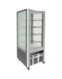 Vitrine réfrigérée de boulangerie avec 4 faces vitrées - 290 litres