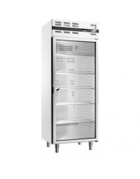 Armoire réfrigérée positive avec porte vitrée - 535 litres