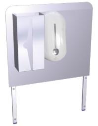 Dosseret pour lave main autonome 061430