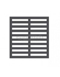 Grille avec support GN 1/1