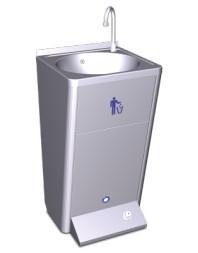 Lave-mains autonome portable Réservoir 11L électrique avec poussoir