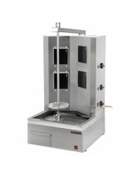 Machine à kebab- électrique - 4 zones - Capacité 60 kilos - Technitalia