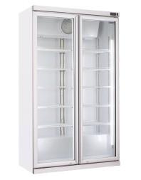 Armoire à boissons 2 portes battantes - 1050 litres