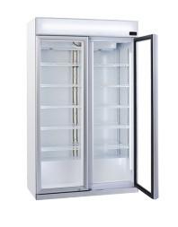 Armoire à boissons 2 portes battantes avec canopy - 1050 litres