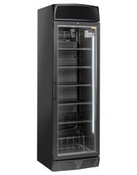 Vitrine réfrigérée verticale 350 litres - 1 porte battante avec canopy - +1°/+12°C