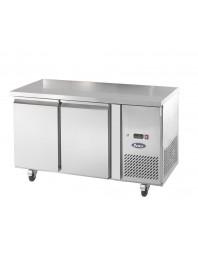 Table Réfrigérée centrale 2 portes - Snack - Positive - Profondeur 600