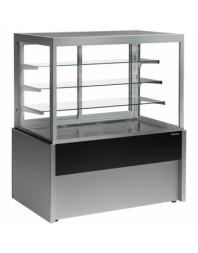 Vitrine droite réfrigérée de boulangerie - Gamme Capri - L 1500 x P 775 x H 1370