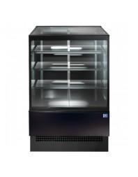 Vitrine droite chauffante de boulangerie - L 1200 x P 800 x H 1400