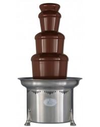 Fontaine à chocolat inox professionnelle bi-chocolat -