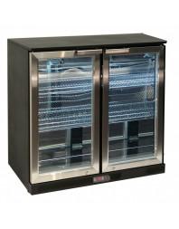 Arrière-bar 2 portes vitrées battantes - 220 litres - Atosa