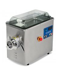 Hachoir à viande réfrigéré de table inox n°22 - Ø 4 mm (400 kg/h)