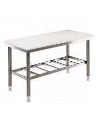 Table de découpe centrale - 1500 mm - Prof 700 - AISI 304