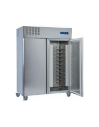 Armoire réfrigérée pâtissièrenégative - 2 portes - 1400 litres - Version pâtissière 600 x 400