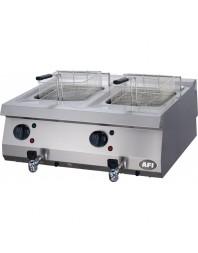 Friteuse professionnelle gaz - 2 x 12 litres - AFI