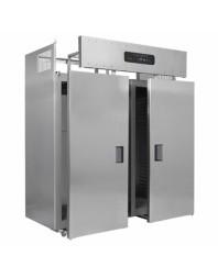 Armoire réfrigérée positive double - GN 2/1 - démontable - 1400 litres - ITALINOX