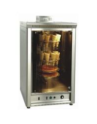 Four cône à pizza gaz à air chaud - 24 cônes 7 pizzas de 30 cm. - SER GAS