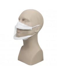 Masque transparent COVID homologué DGA - Fabrication Française