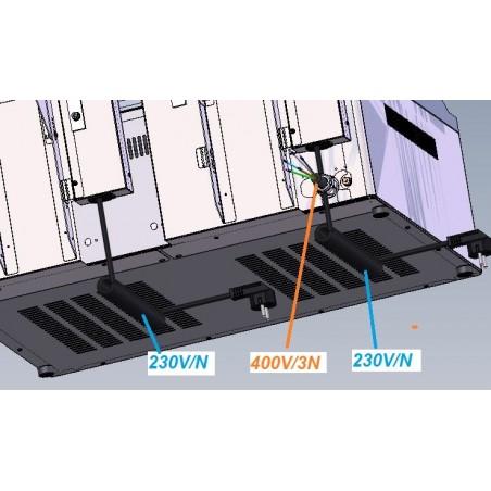 Clam électrique double - RM GASTRO