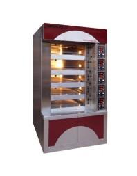 Four boulanger à soles - 4 bouches - H 130 mm et 1 bouche - H 190 mm - 600 x 800 - Compagnon 600