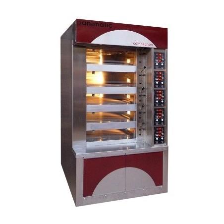 Four boulanger à soles - 4 bouches H 130 mm - 750 x 800 - Compagnon 750