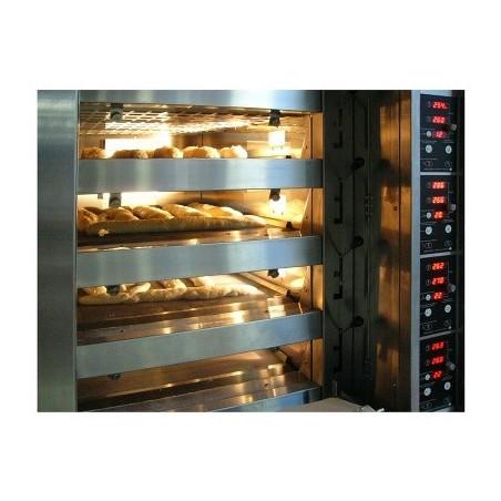 Four boulanger à soles - 6 bouches H 130 mm - 600 x 800 - Compagnon 120