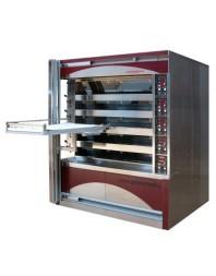 Four boulanger à soles - 10 bouches H 130 mm et 2 bouches de 190 mm - 600 x 800 - Compagnon 1200