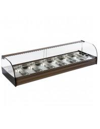 Comptoir chaud - modèle de table 6 x GN 1/3