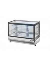 Vitrine réfrigérée vitrage droit - 120 litres