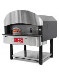 Fours à pizza rotatifs à gaz et à bois - Ø 300 mm 6 pizzas 75 pizzas / heure.