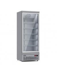 Armoire réfrigérée positive 0/+10°C - 1 porte vitrée battante - 600 litres
